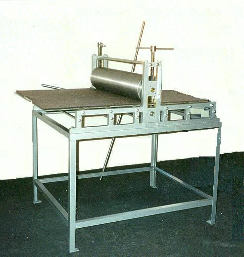 Maquina Tipo Torculo Austero Modelo 60/90. Vista Posterior. Sistema de Transmision con Timón.