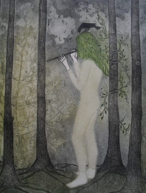 """Paloma Altolaguirre """"Aqui en el bosque"""""""