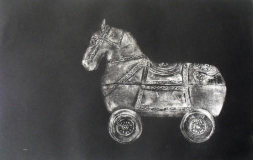 """Elena Rauz """"Casi caballo"""""""