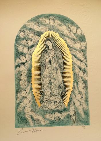 """Carmen Parra """"Virgen de Guadalupe"""""""