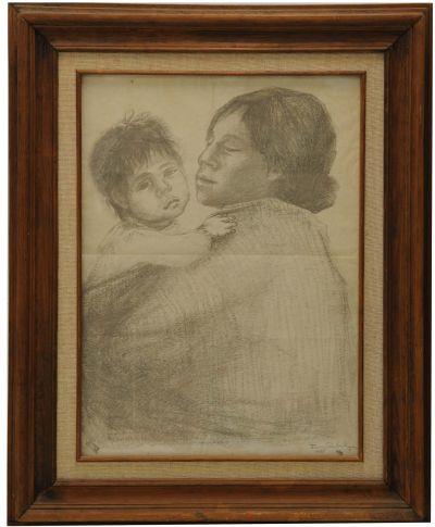 "FANNY RABEL ""Madre con Niño"""