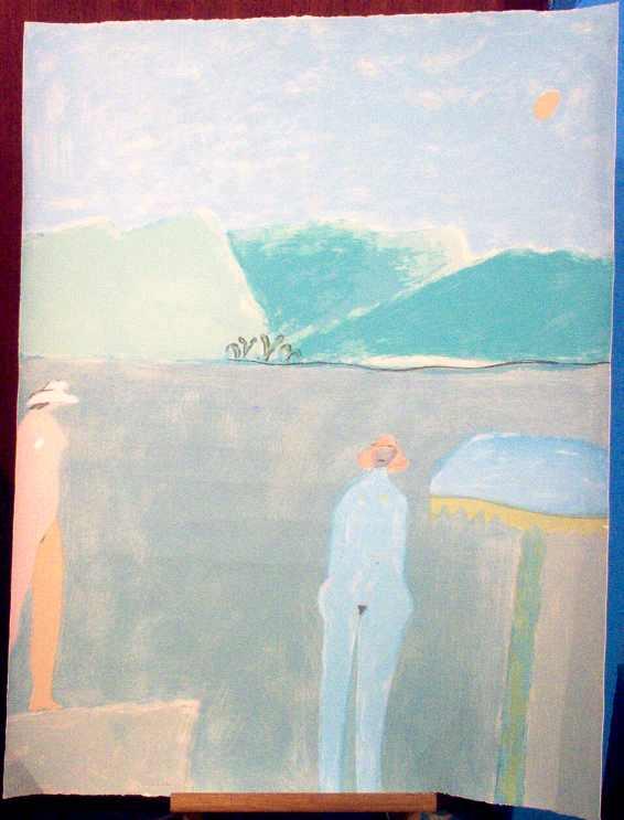 Joy Laville. Obra a la Venta Serigrafia Titulo \