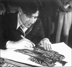 Leopoldo mendez obra grafica quot la venganza de los pueblos quot biografia